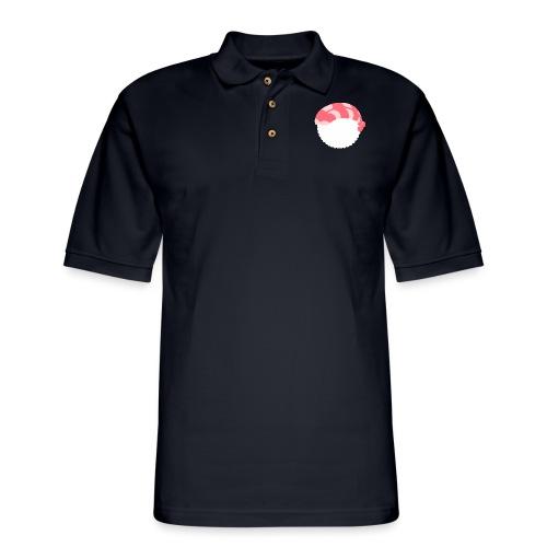 Sushi shrimp - Men's Pique Polo Shirt