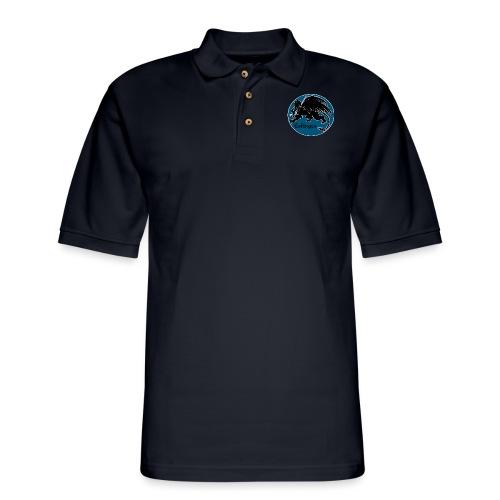 Esfinges Logo - Men's Pique Polo Shirt