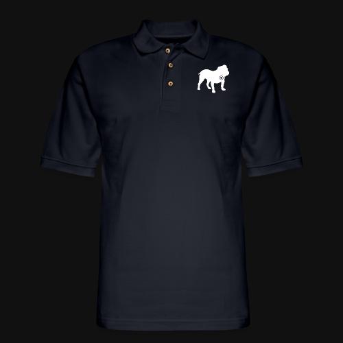 Bulldog love - Men's Pique Polo Shirt