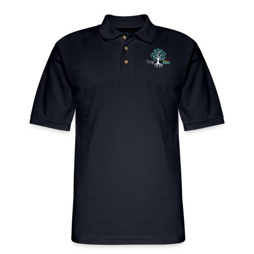 JWM PGH TEAL MONTH - Men's Pique Polo Shirt