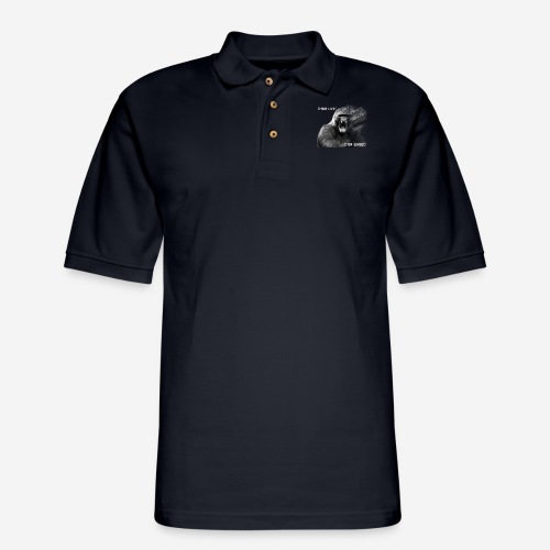 Gorilla copy - Men's Pique Polo Shirt