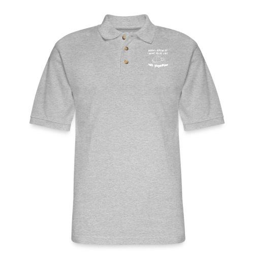 When I Grow Up - Men's Pique Polo Shirt