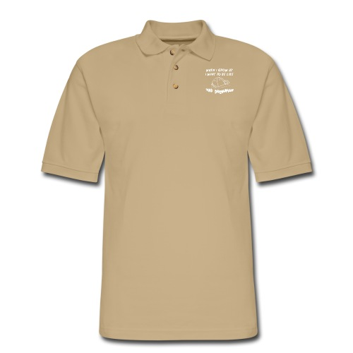 When I Grow Up - Men's Pique Polo Shirt