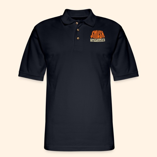 Smash Capitalism - Men's Pique Polo Shirt