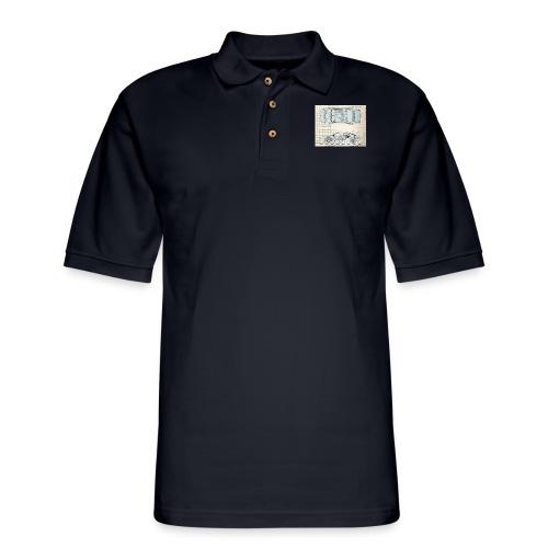 drawings - Men's Pique Polo Shirt