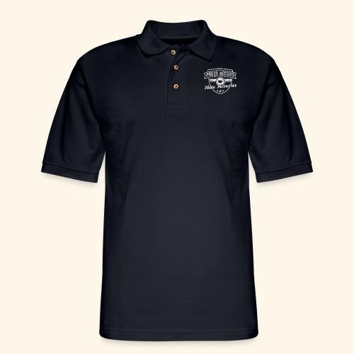 pressrecord_makememories2 - Men's Pique Polo Shirt