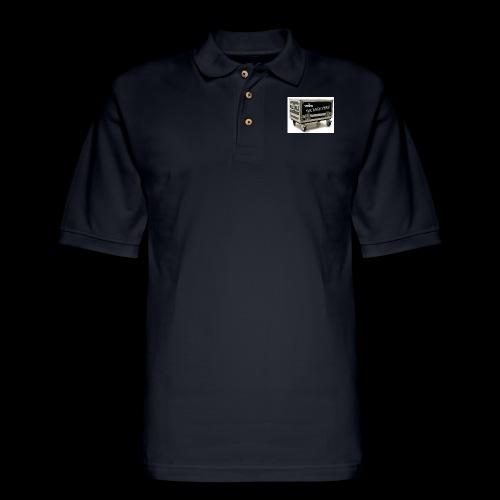 Eye rock road crew Design - Men's Pique Polo Shirt