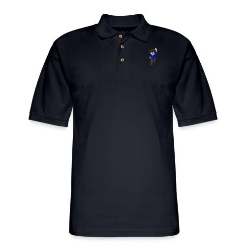 WHITE SKYKIDD18 T-SHIRT ORIGINAL DESIGN - Men's Pique Polo Shirt