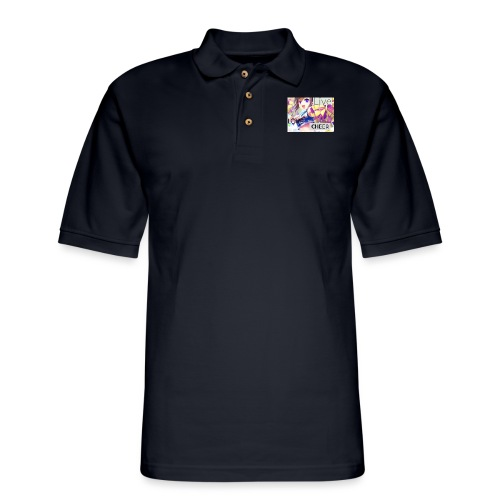live love cheer - Men's Pique Polo Shirt