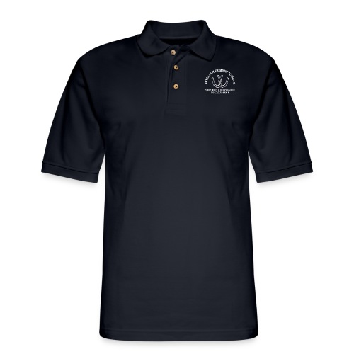 hanna horseshoe hoodie - Men's Pique Polo Shirt