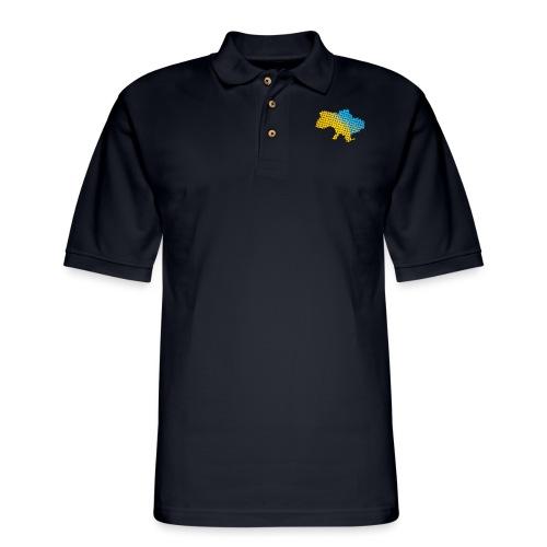 Woven Ukraine - Men's Pique Polo Shirt