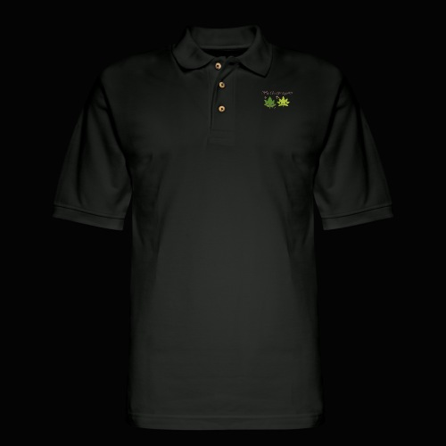 Weed Be Cute Together - Men's Pique Polo Shirt