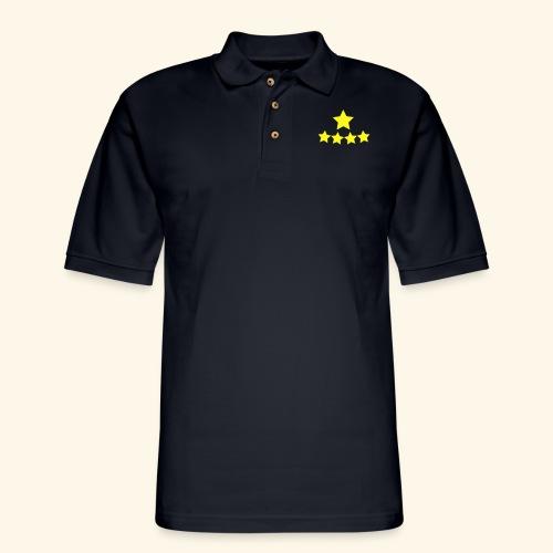 5 Stars - Men's Pique Polo Shirt