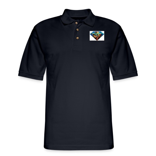 Lexi's Diamond - Men's Pique Polo Shirt