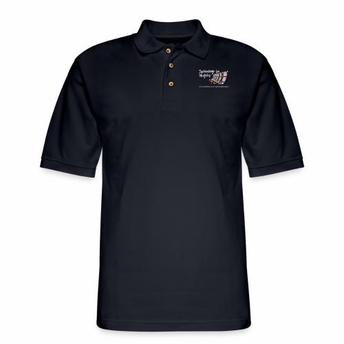 Spinning in Vegas Clothing Line - Men's Pique Polo Shirt