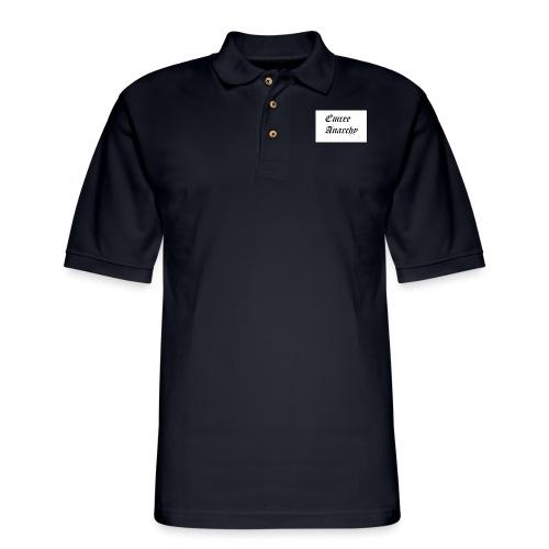 Untitled - Men's Pique Polo Shirt