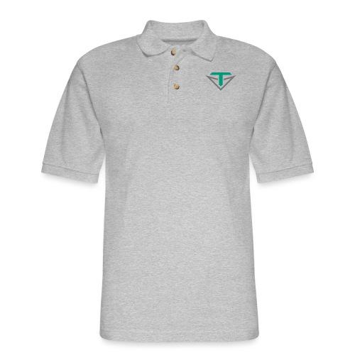 Toulon Golf Logo Shirt - Men's Pique Polo Shirt