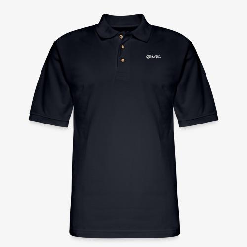 KMATiKC Logo white - Men's Pique Polo Shirt