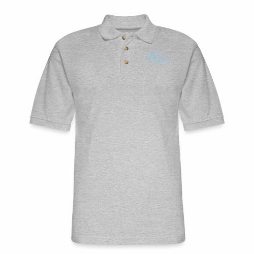 ABAPsNotDead light blue - Men's Pique Polo Shirt