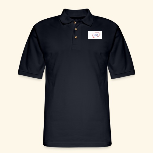NO! - Grace Sakyi - Men's Pique Polo Shirt