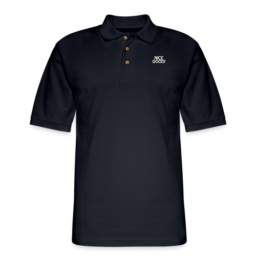 T-Shirt - Nice Good! - Men's Pique Polo Shirt