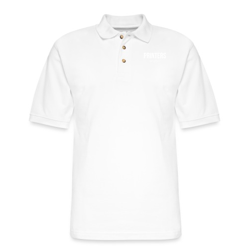 Printers, amirite? - Men's Pique Polo Shirt