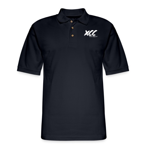 XCC Big Logo - Men's Pique Polo Shirt