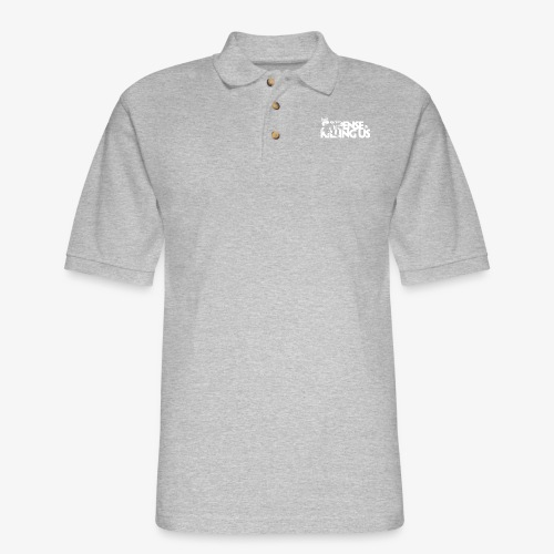 Suspense Is Killing Us White Logo - Men's Pique Polo Shirt