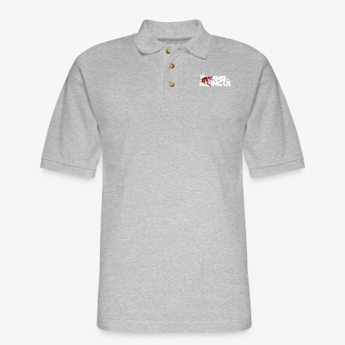 Suspense Is Killing Us Red Eye Logo - Men's Pique Polo Shirt
