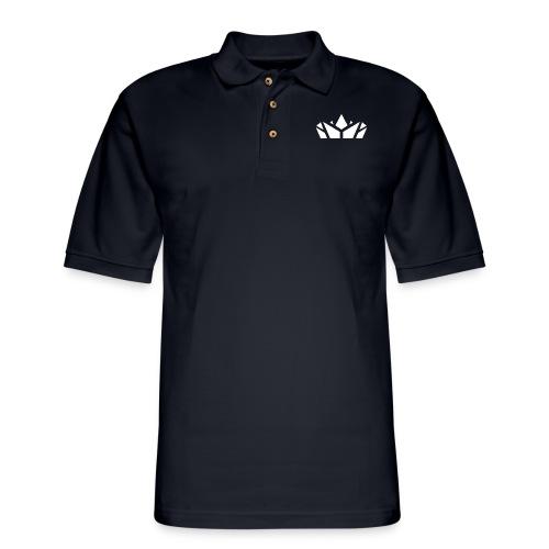 Prestige Zone White - Men's Pique Polo Shirt