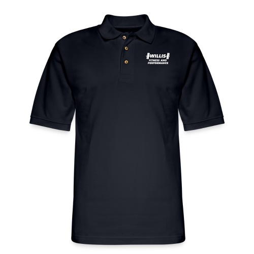 WILLIS FITNESS AND PERFORMANCE - Men's Pique Polo Shirt
