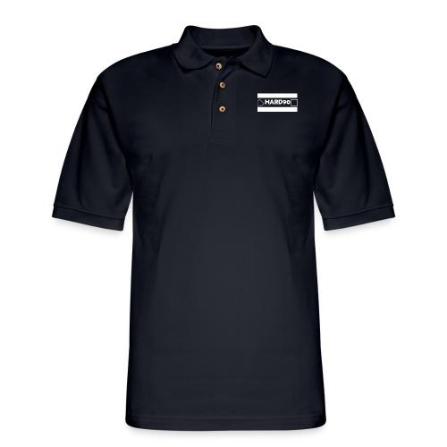 Original Hard 90 Logo - Men's Pique Polo Shirt