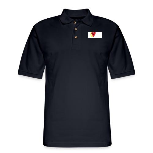 love heat - Men's Pique Polo Shirt