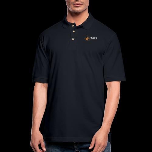 a - Men's Pique Polo Shirt