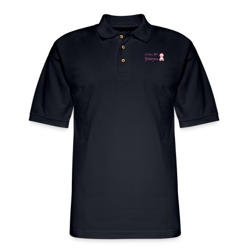 Daddys Little Taswegian Girls - Men's Pique Polo Shirt