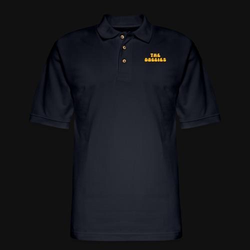 THE DOGGIES - Men's Pique Polo Shirt