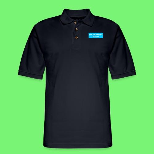 ask for consent - Men's Pique Polo Shirt