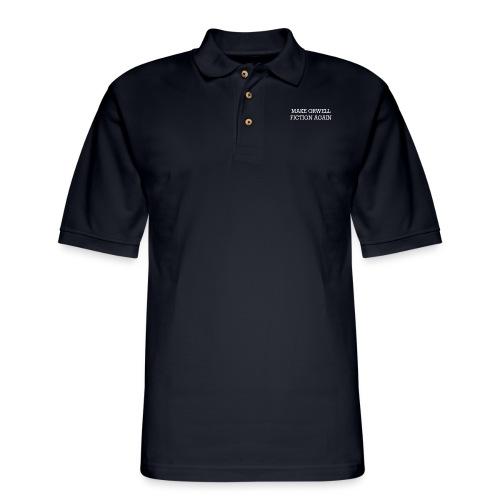 Orwellian - Men's Pique Polo Shirt