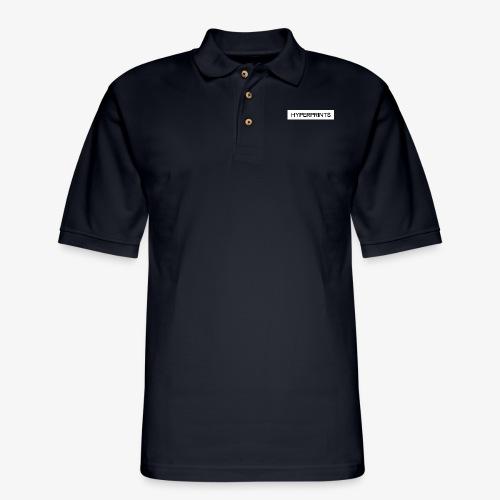 HYPERPRINTS LOGO - Men's Pique Polo Shirt