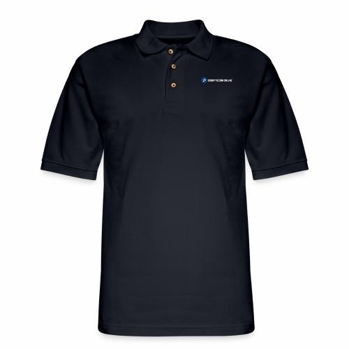 Digibyte online light - Men's Pique Polo Shirt