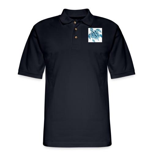 turtle - Men's Pique Polo Shirt