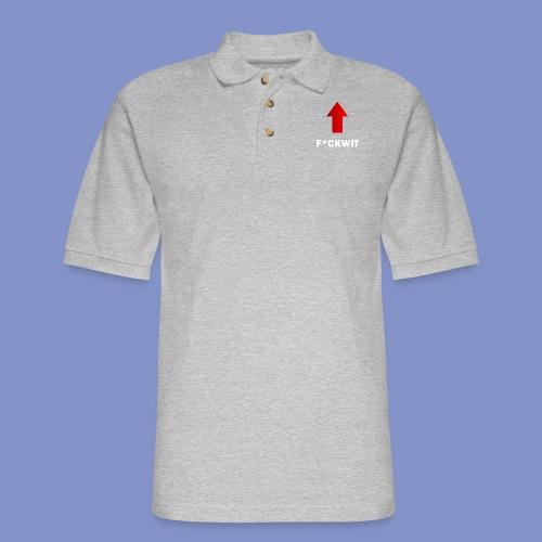 Self-Describing T-Shirt - Men's Pique Polo Shirt