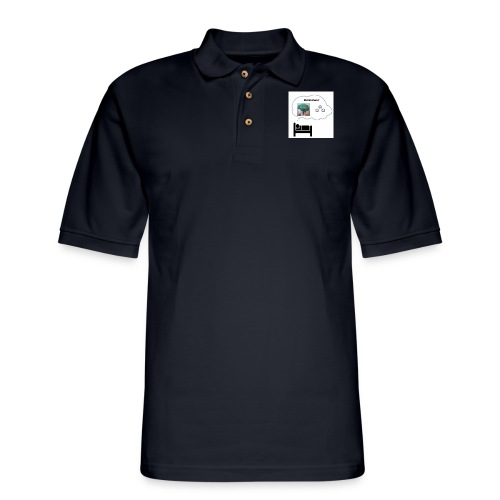 Sleep Neuralizer Bubble - Men's Pique Polo Shirt