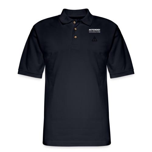 Spaceteam Asteroid! - Men's Pique Polo Shirt