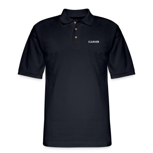 Cleaner - Men's Pique Polo Shirt