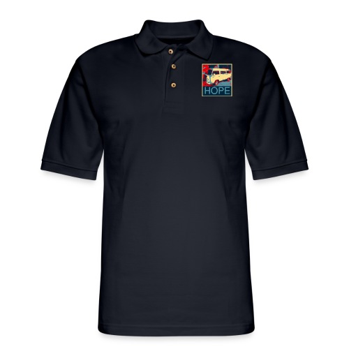 CLASSIC van SURF BUS TSHIRT HATS HOODIES - Men's Pique Polo Shirt