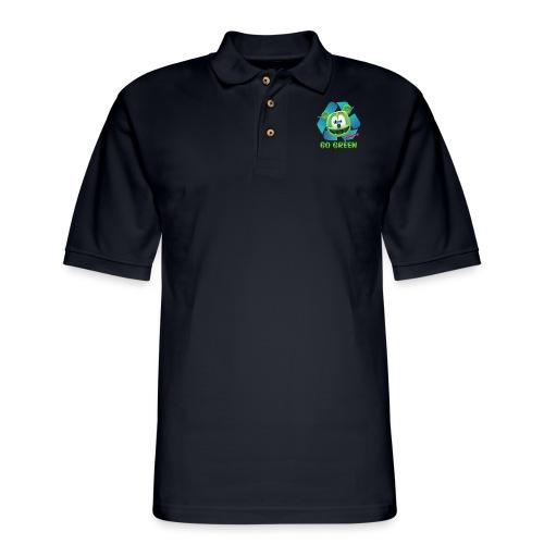 Gummibär Recycle - Men's Pique Polo Shirt