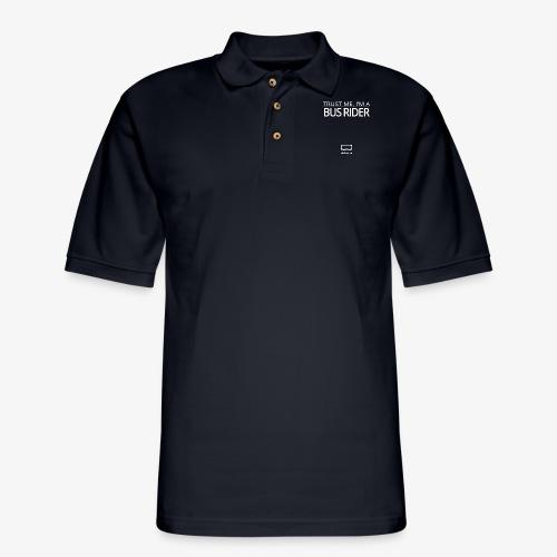 Trust Me, I'm A Bus Rider - Men's Pique Polo Shirt