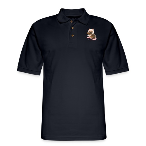 I'm the Green Fairy - Men's Pique Polo Shirt