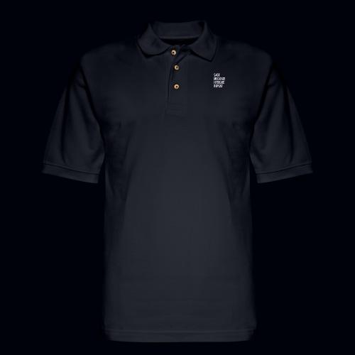 Mindfulness Collection - Men's Pique Polo Shirt